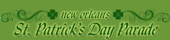 St Patricks Day New Orleans